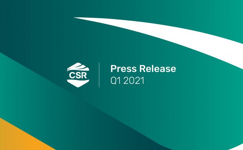 Press Release CSRA Q1 2021