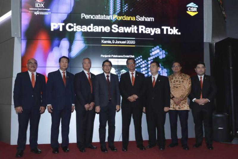 PT Cisadane Sawit Raya Tbk. Listed on the IDX
